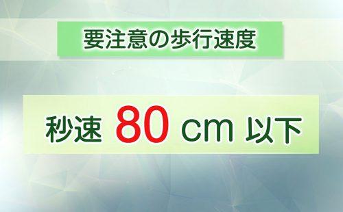 MCI歩行速度